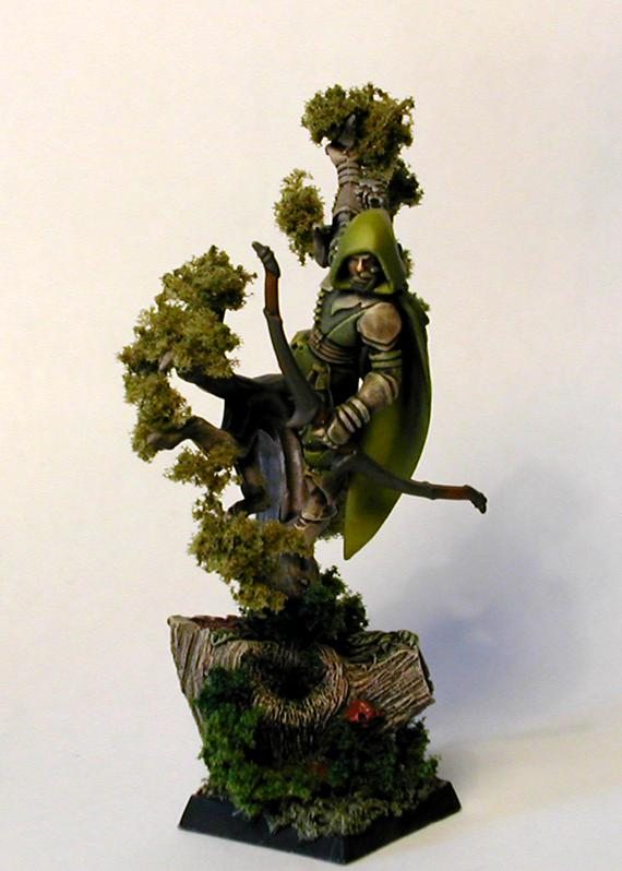 Glade Guard, Scouts, Trees, Wood, Wood Elves