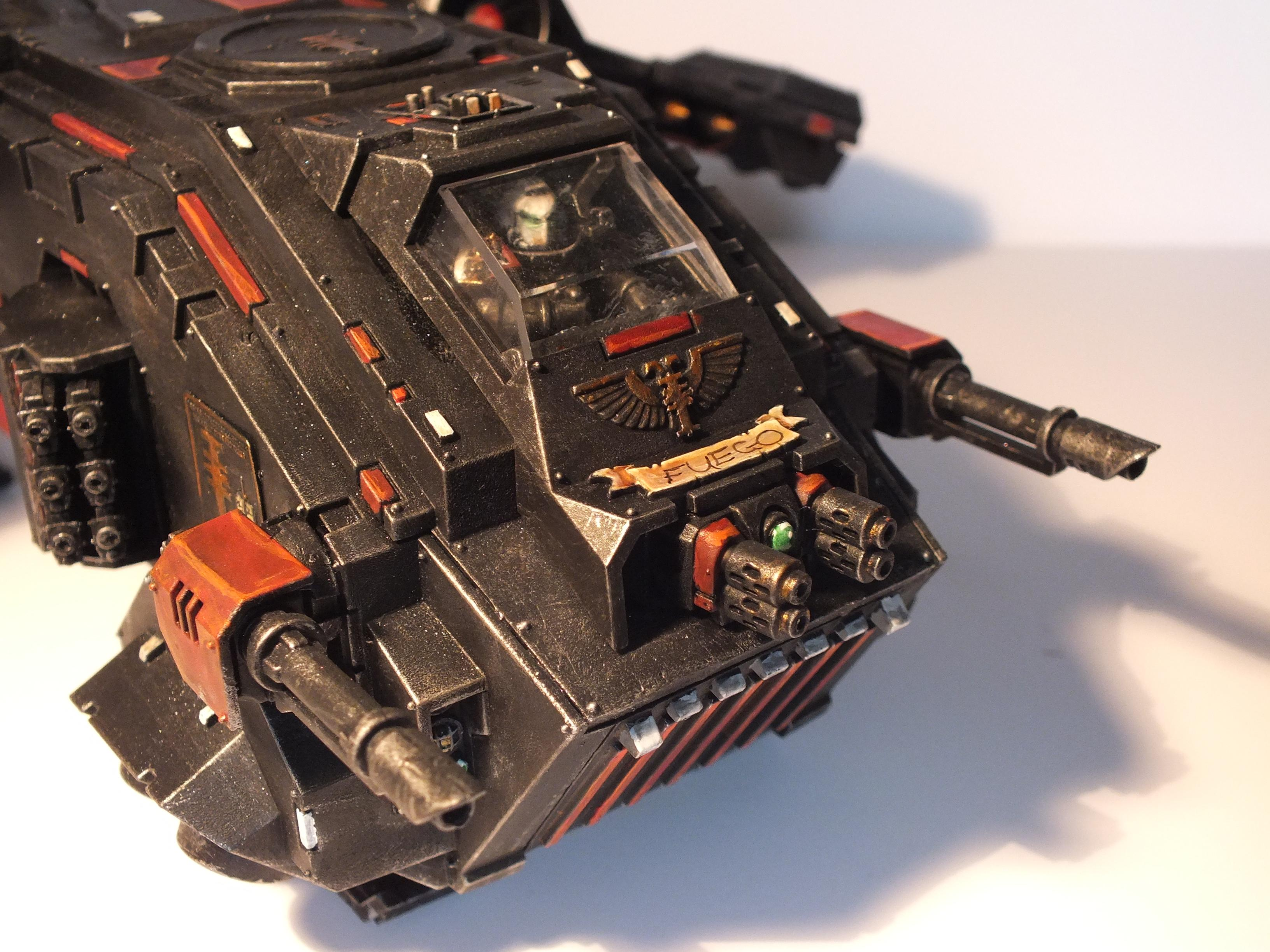 Chapter House, Conversion, Gk, Grey Knights, Storm Raven