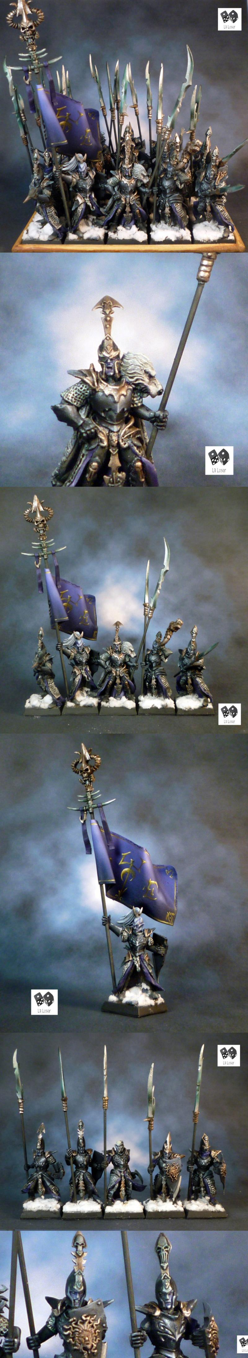 Conversion, Dark Elves, Druchii, Naggarond, Naggaroth, Non-Metallic Metal, Warriors