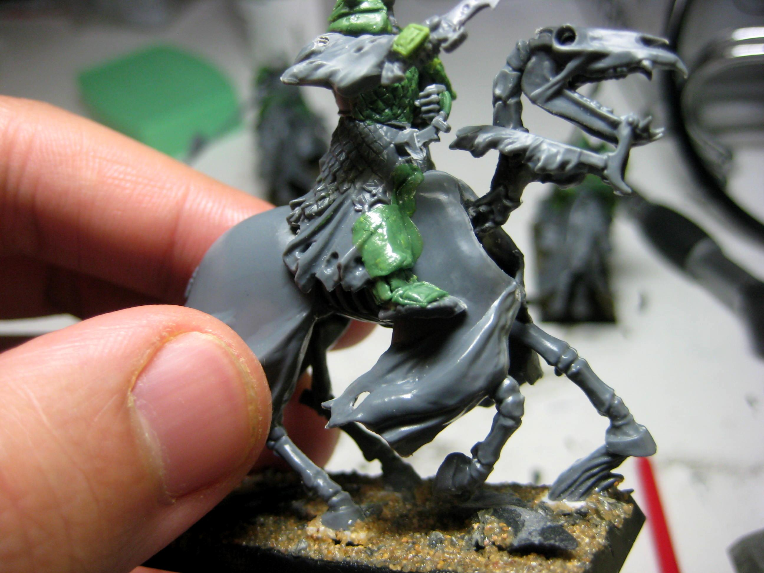 Black Knights, Calvary, Conversion, Greenstuff, Samurai, Vampire Counts, Work In Progress