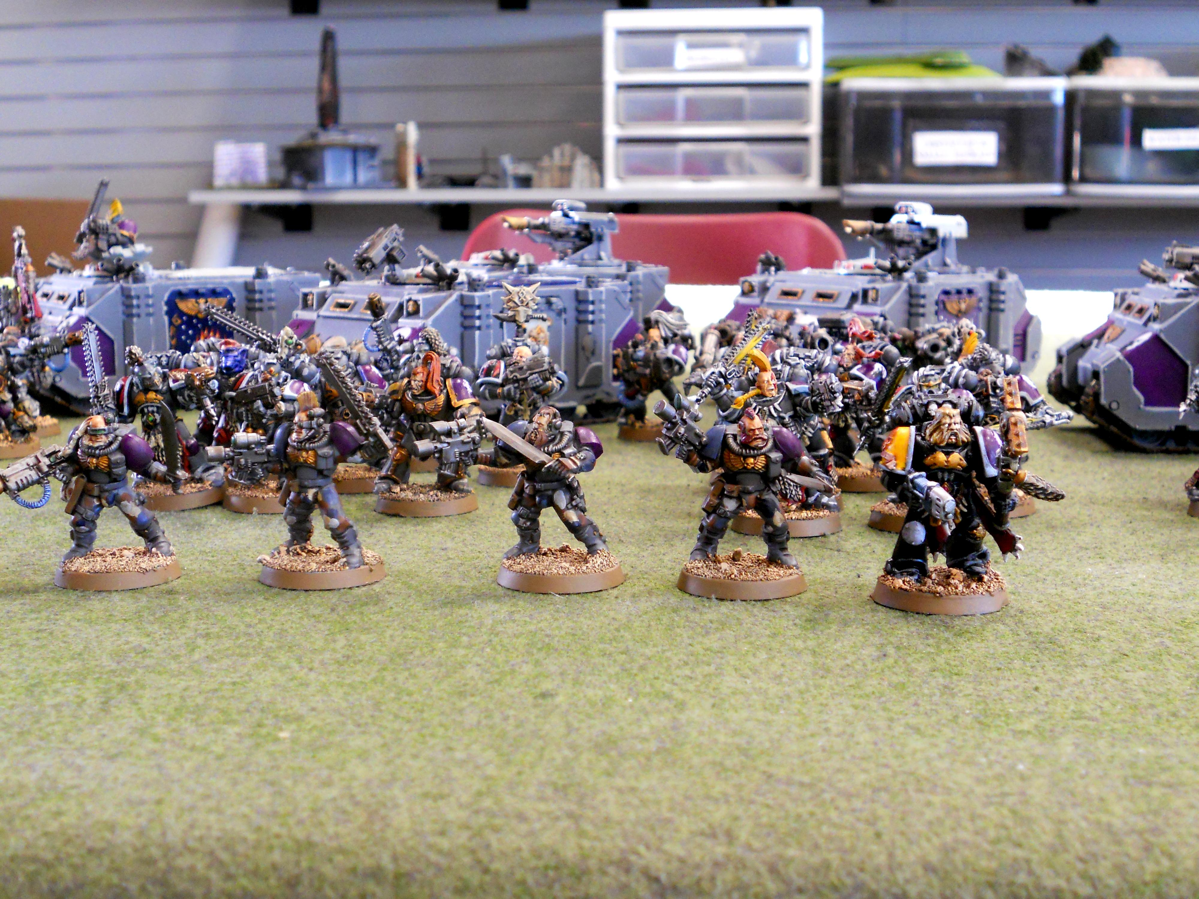 Army, Pre-heresy, Space Wolves, Space Wolves Army, Wolf Priest, Wolf Scouts