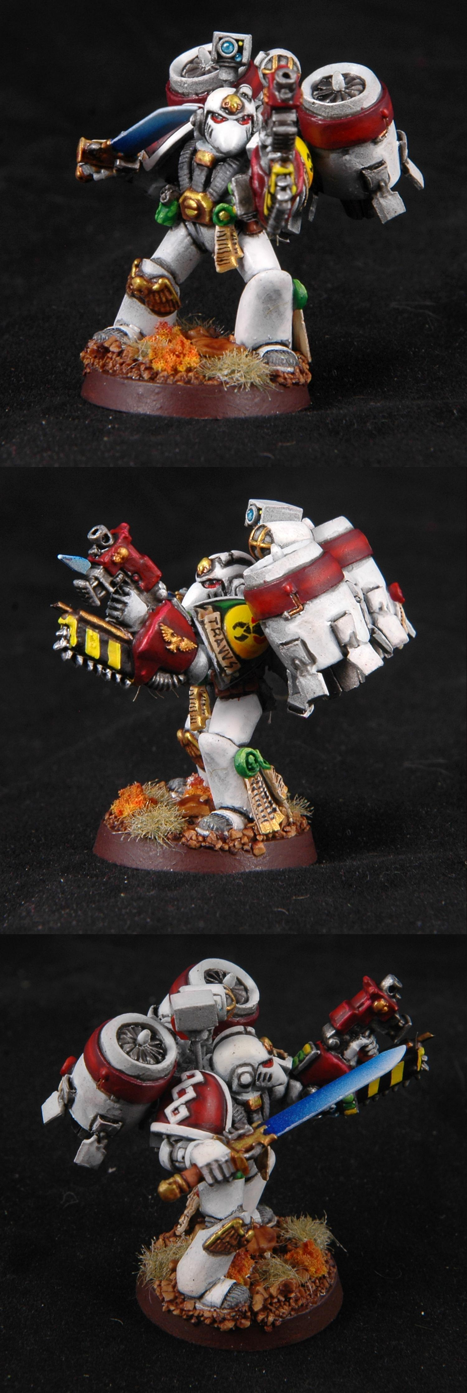 Apothecary, Mantis Warriors, Space Marines, Warhammer 40,000