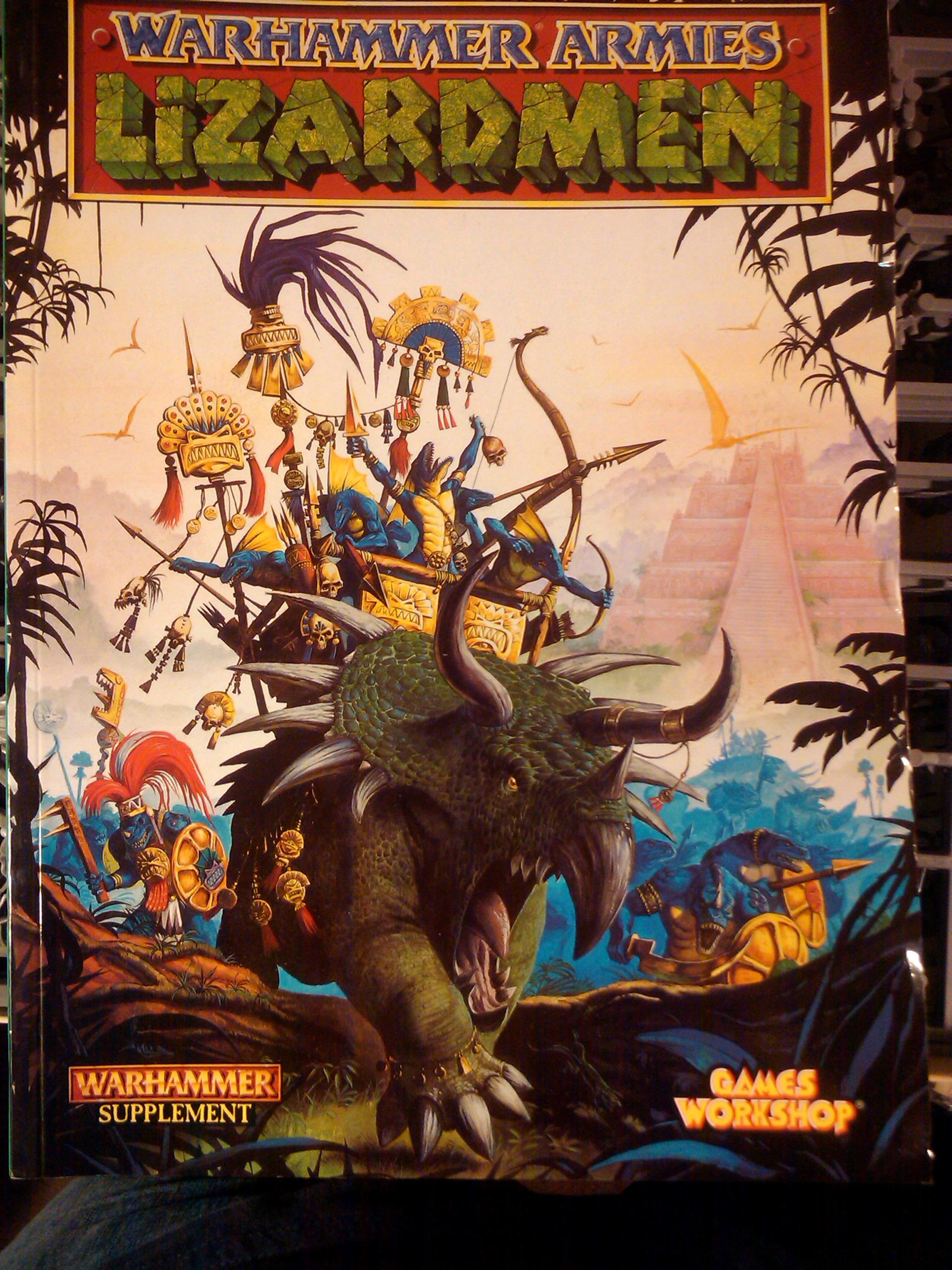 Build, Hobby, Lizard, Lizardmen, Painting, Warhammer Fantasy, Wf