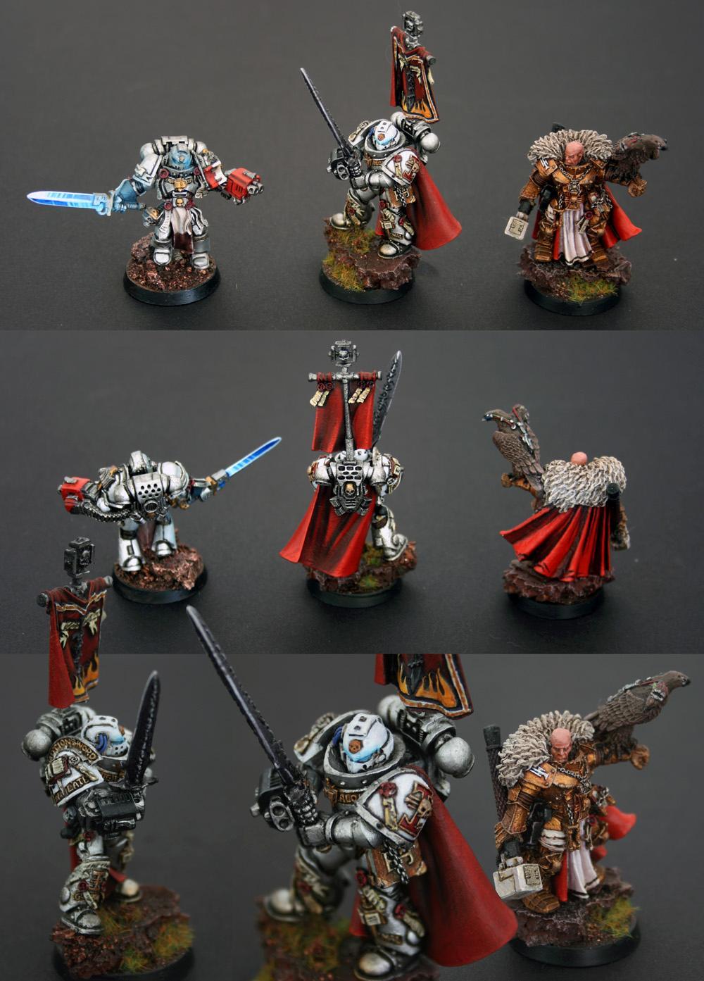 Brotherhood Champion, Coteaz, Crowe, Grey Knights, Purifiers