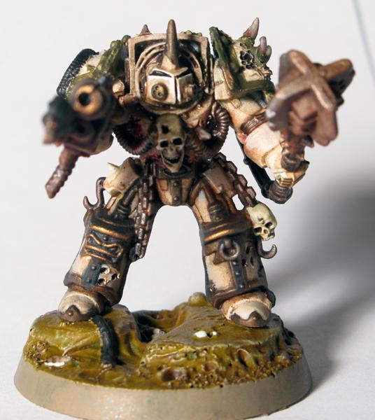 Chaos, Death Guard, Forge World, Heresy, Heresy Colors, Legion, Nurgle, Terminator Armor, Wash, Work In Progress