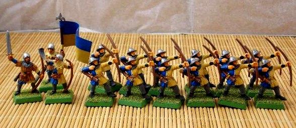 Archers, Bretonnians, Build, Hobby, Knights, Men At Arms, Painting, Peasant, Warhammer Fantasy, Wf