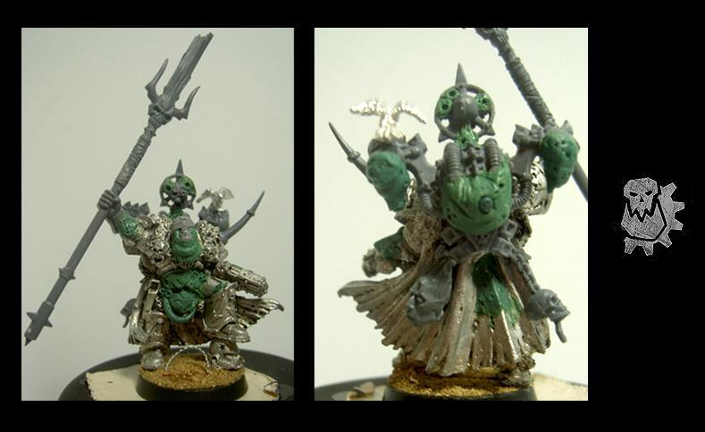 Apostles Of Contagion, Greenstuff, Nurgle, Sorcerer