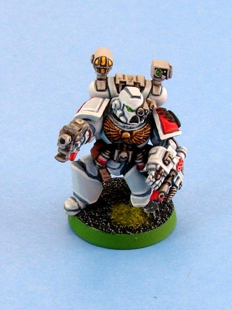 Apothecary, Blood Angels, Hard-liners, Sanguinary Priest, Warhammer 40,000