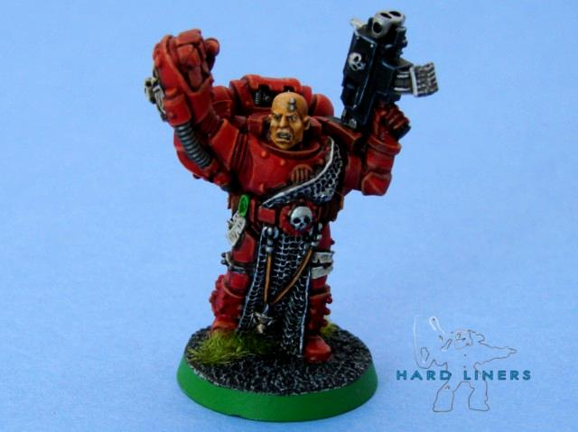 Blood Angels, Captain, Games Day, Hard-liners, Power Fist, Purity Seal, Space Marines, Storm Bolter, Warhammer 40,000