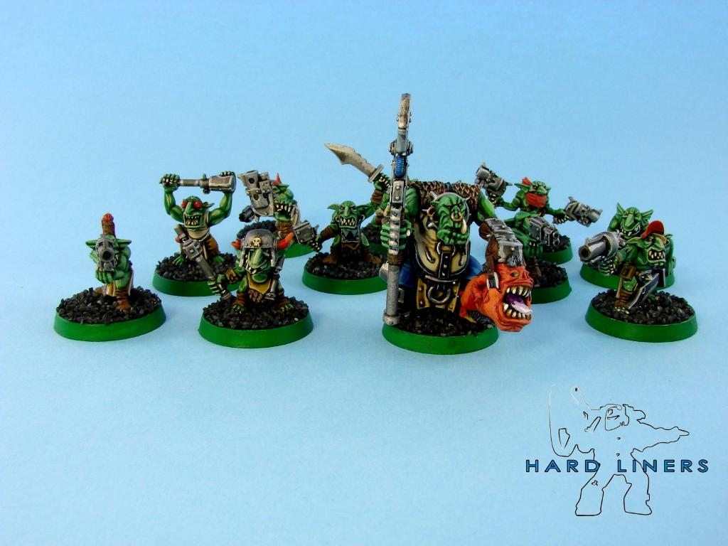 Gretchin, Grots, Hard-liners, Orks, Runtherd, Warhammer 40,000