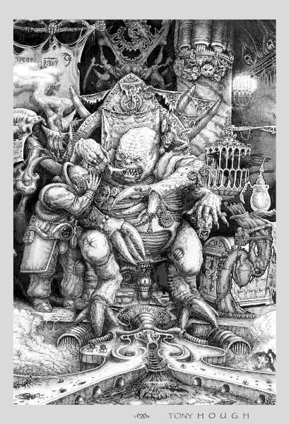 Genestealer, Genestealer Cult, Patriarch