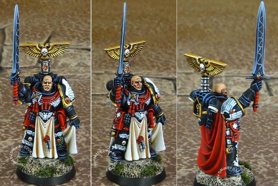 Black Templar Marshal, Black Templars, Black Templars Black Templar Hero, Space Marines, Warhammer 40,000