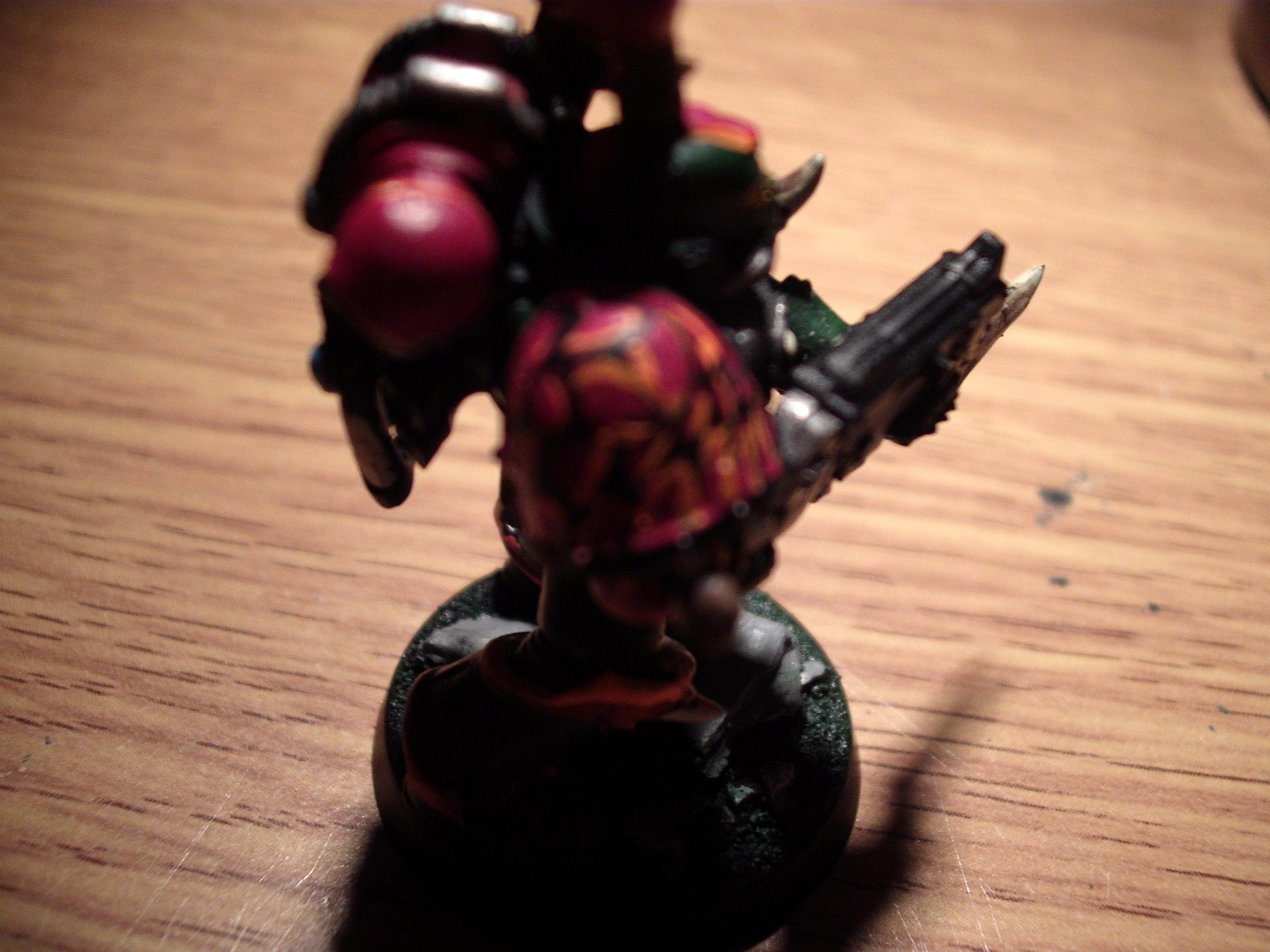 Counts As, Green, Raptors, Scales, Side View, Space Marines, Topknot