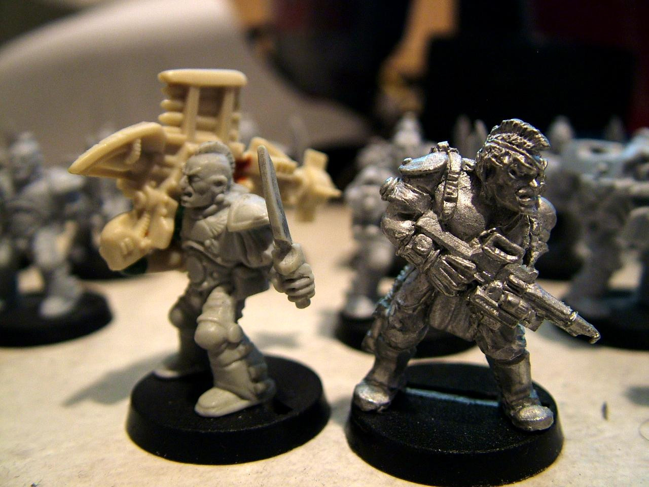 Rogue Trader, Scouts, Sergeant Telion, Space Crusade, Space Marines