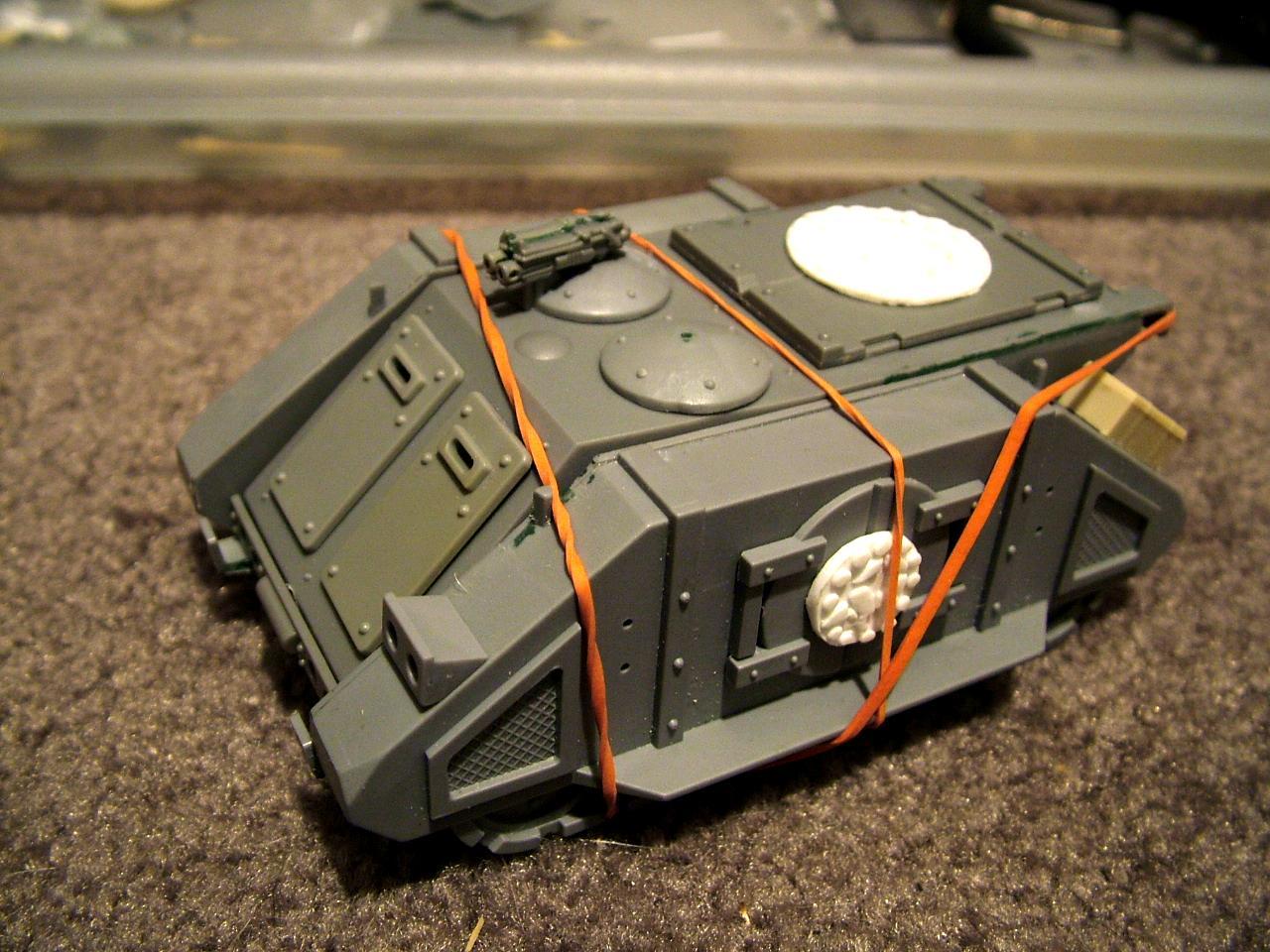 Magnetised, Rhino, Rogue Trader, Space Marines