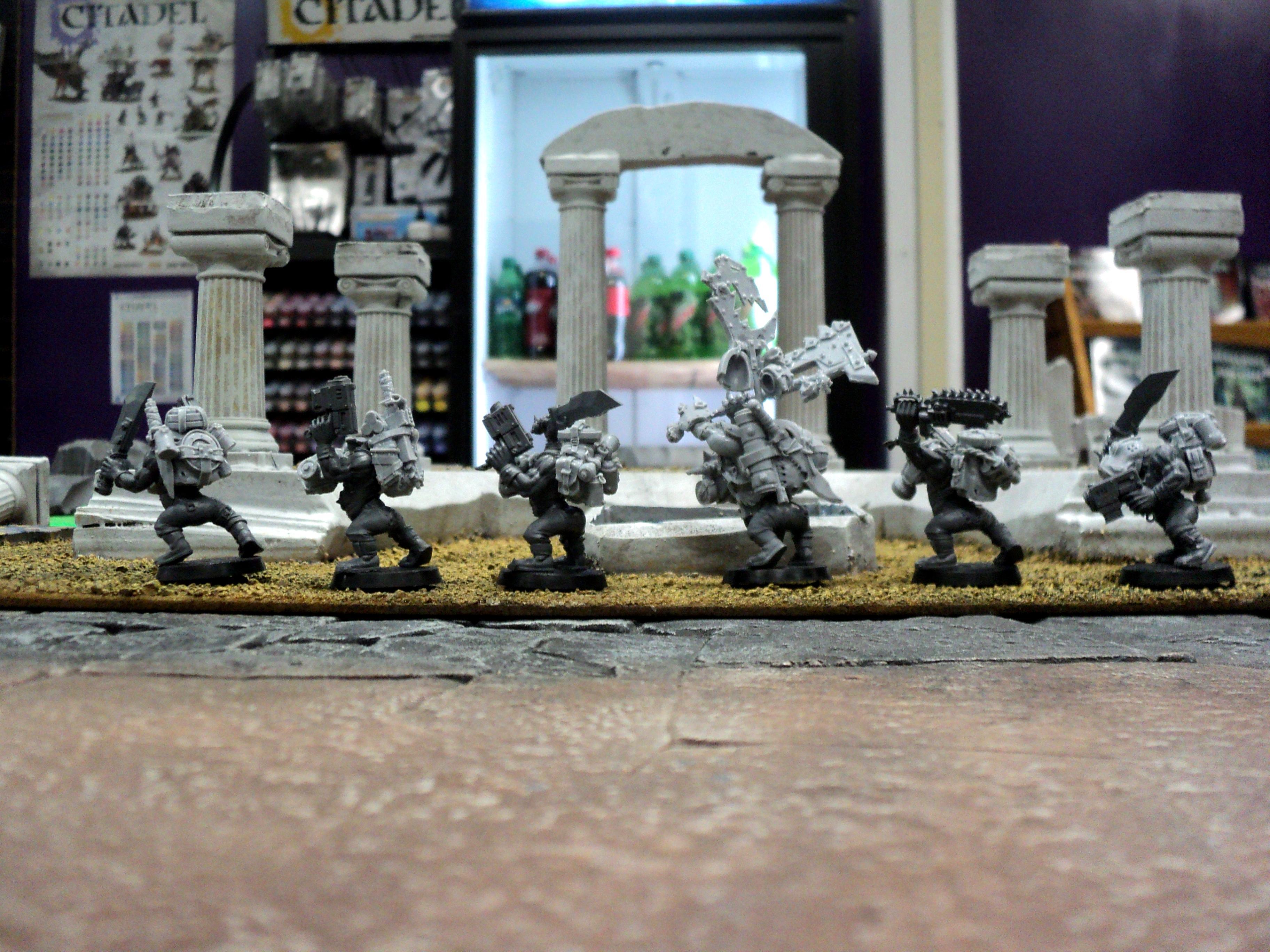 Boss, Conversion, Deathskulls, Kommandos, Orks, Work In Progress
