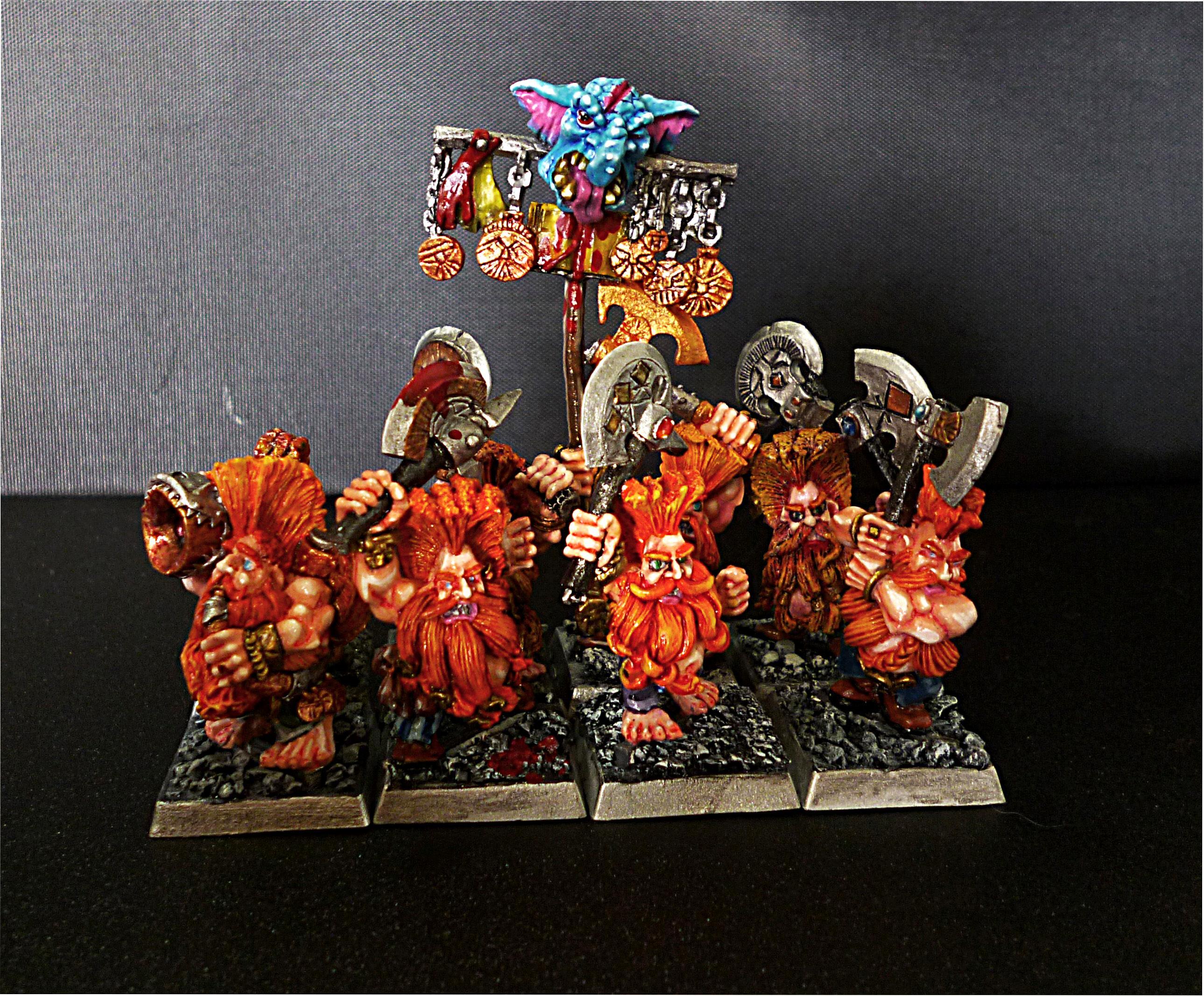 Dwarves, Slayer, Slayer Command, Warhammer Fantasy