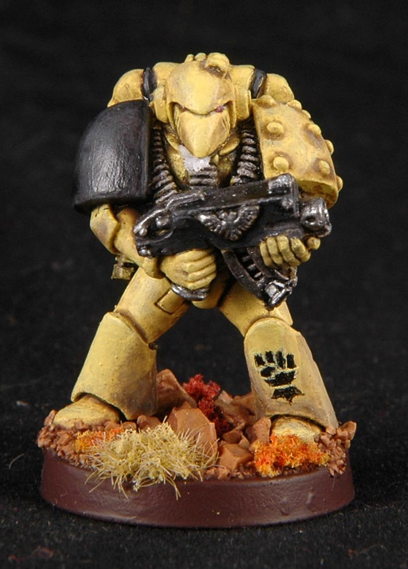 Imperial Fists, Space Marines, Warhammer 40,000, Weetyskeiman44