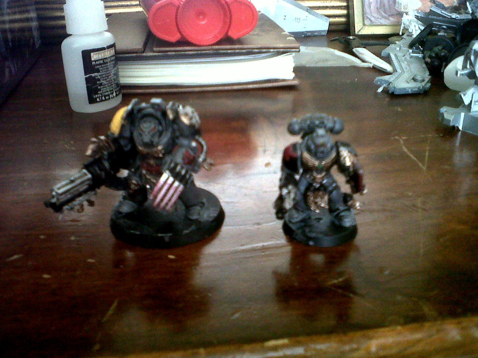 Grey Hunter, Space Wolves, Tactical Squad, Terminator Armor, Wolf Guard