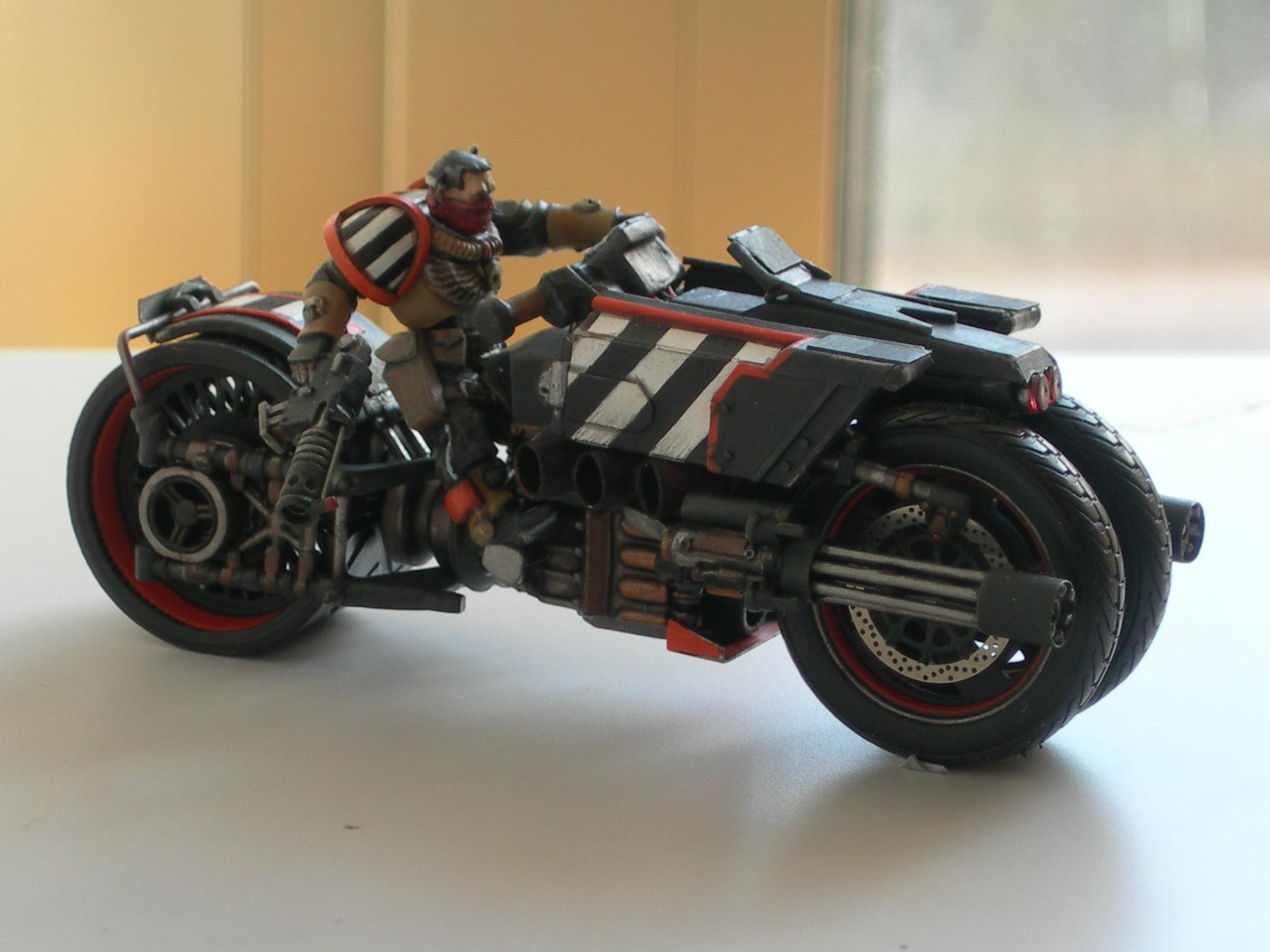 Awesome, Bike, Scouts, Space Marines