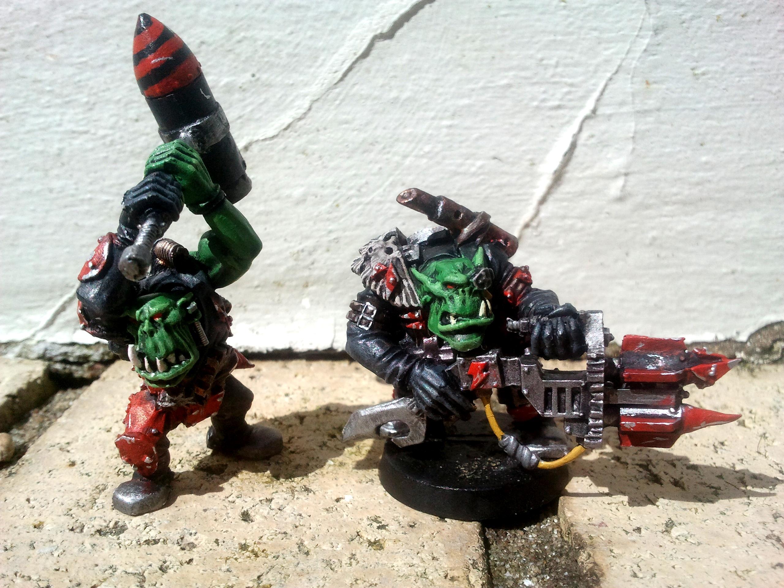 Orks, Space, Tankbustas, Warhammer 40,000, Warhammer Fantasy