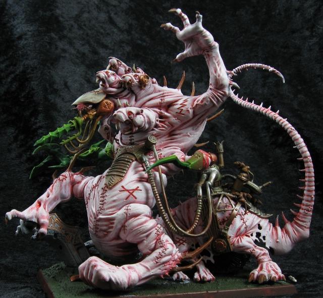 Abomination, Albino, Battles, Hellpit, Warhammer Fantasy, Watchdragon