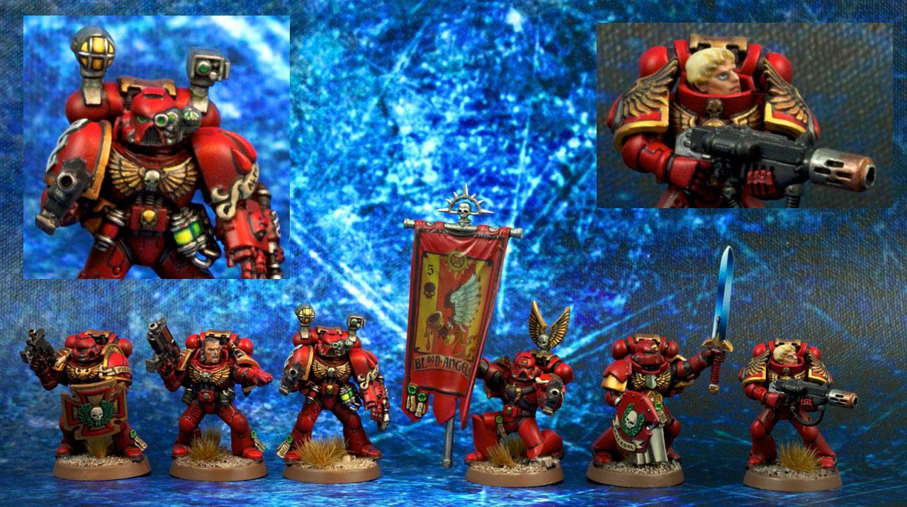 Blood Angels, Command Squad, Warhammer 40,000