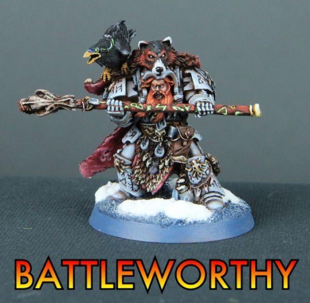 Space Wolves, Batlteworthy Njal