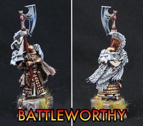 Axeman, High Elves, Battleworthy High Elf Prince