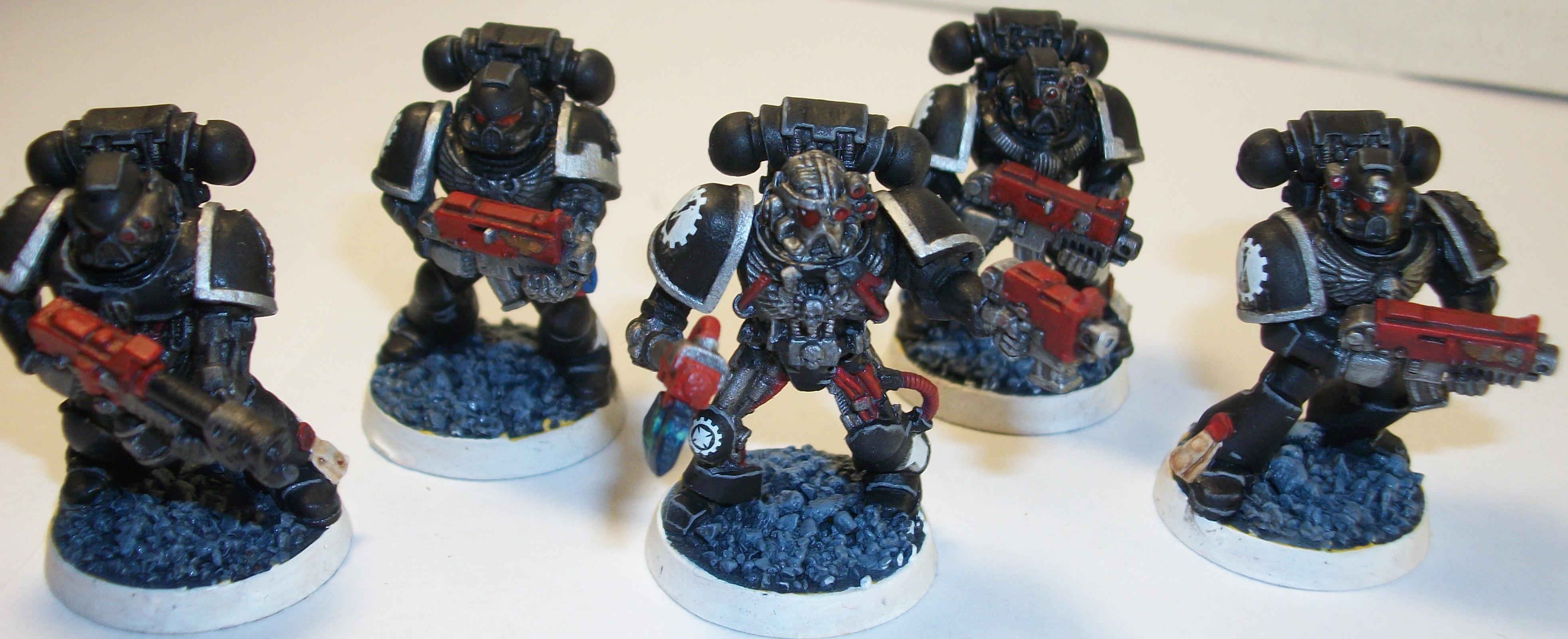 Bionics, Iron Hand, Space Marines, Tactical Squad