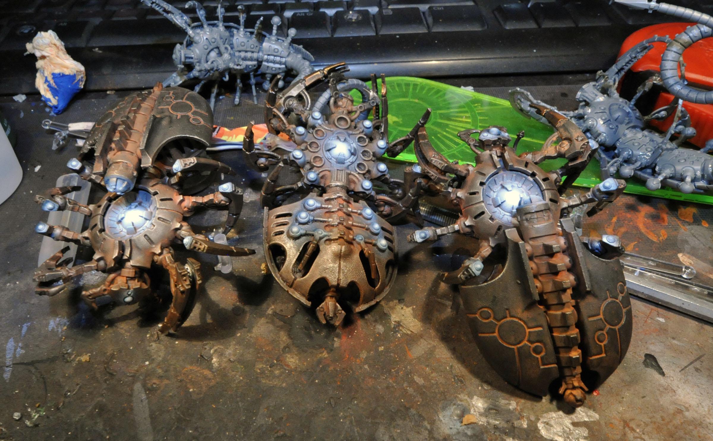 Canoptek, Necrons, Spider, Warhammer 40,000