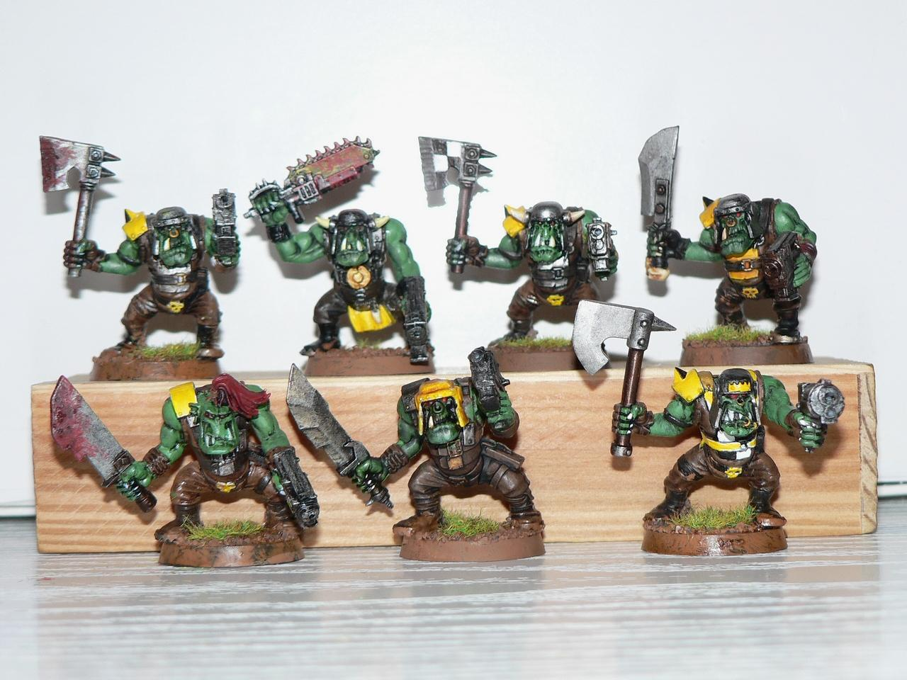 Assault On Black Reach, Boy, Orks