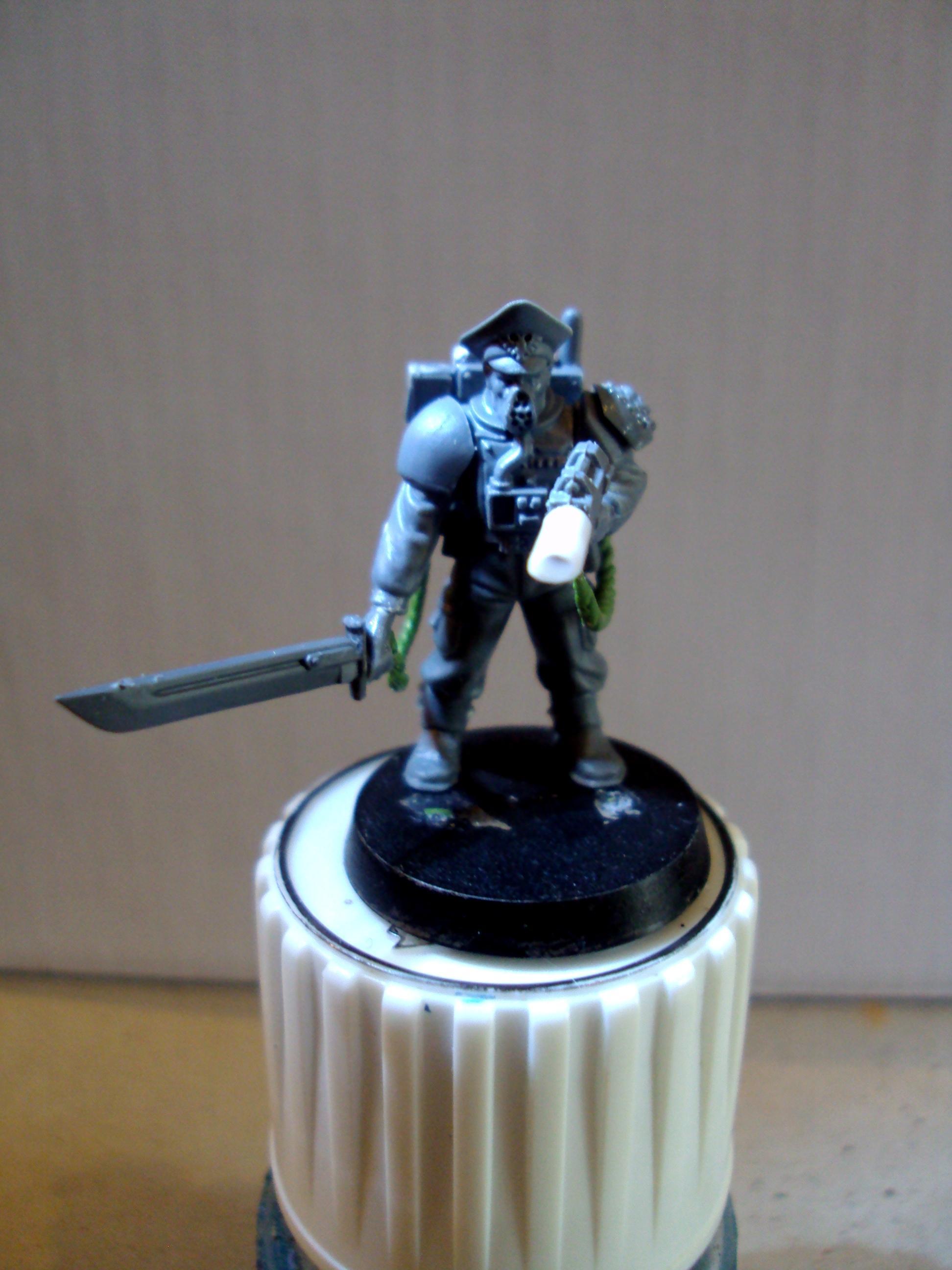Storm Trooper Leader Front WIP