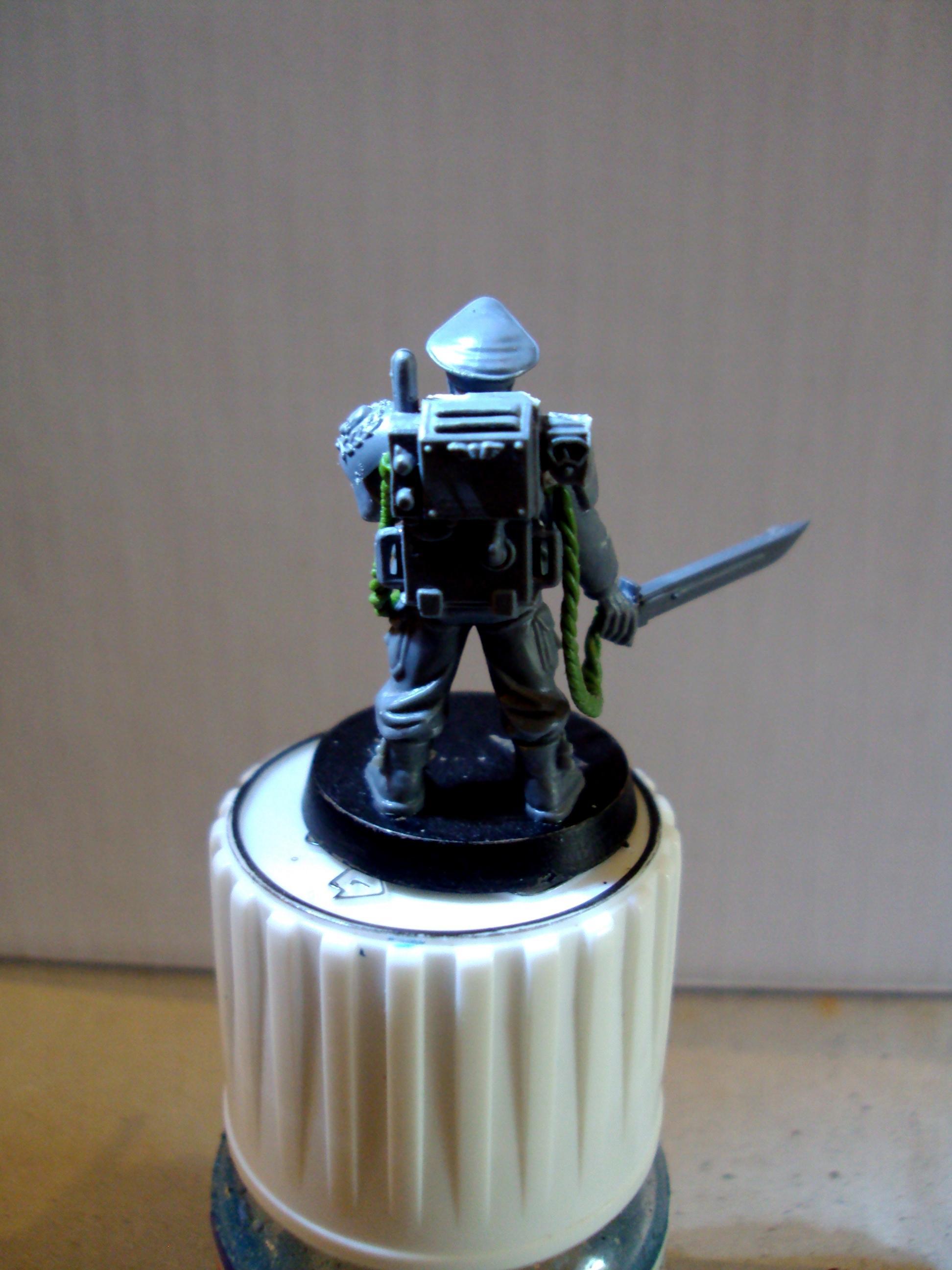 Storm Trooper Leader Rear WIP