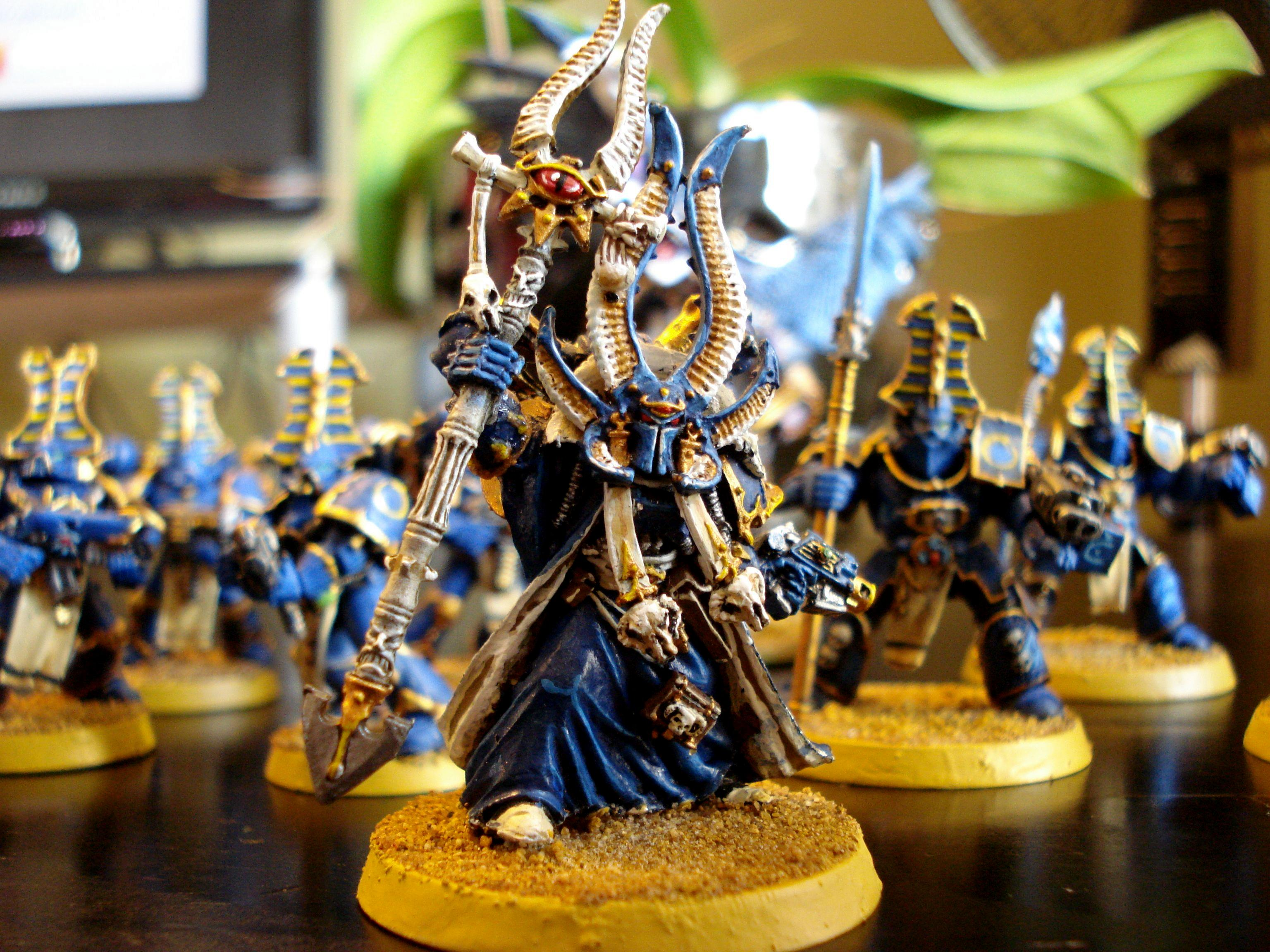Ahriman, Sorceror Lord, Thousand Sons, Tzeentch