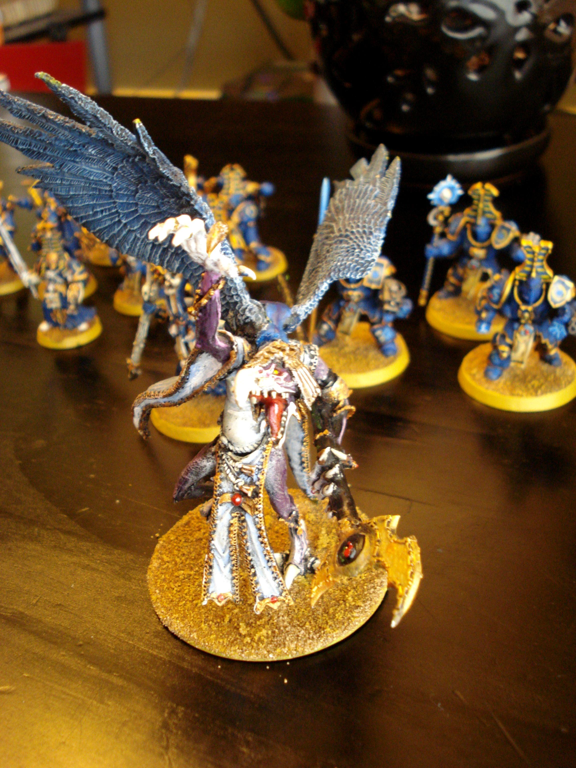 Chaos, Daemons, Greater Daemon, Lord Of Change, Thousand Sons, Tzeentch
