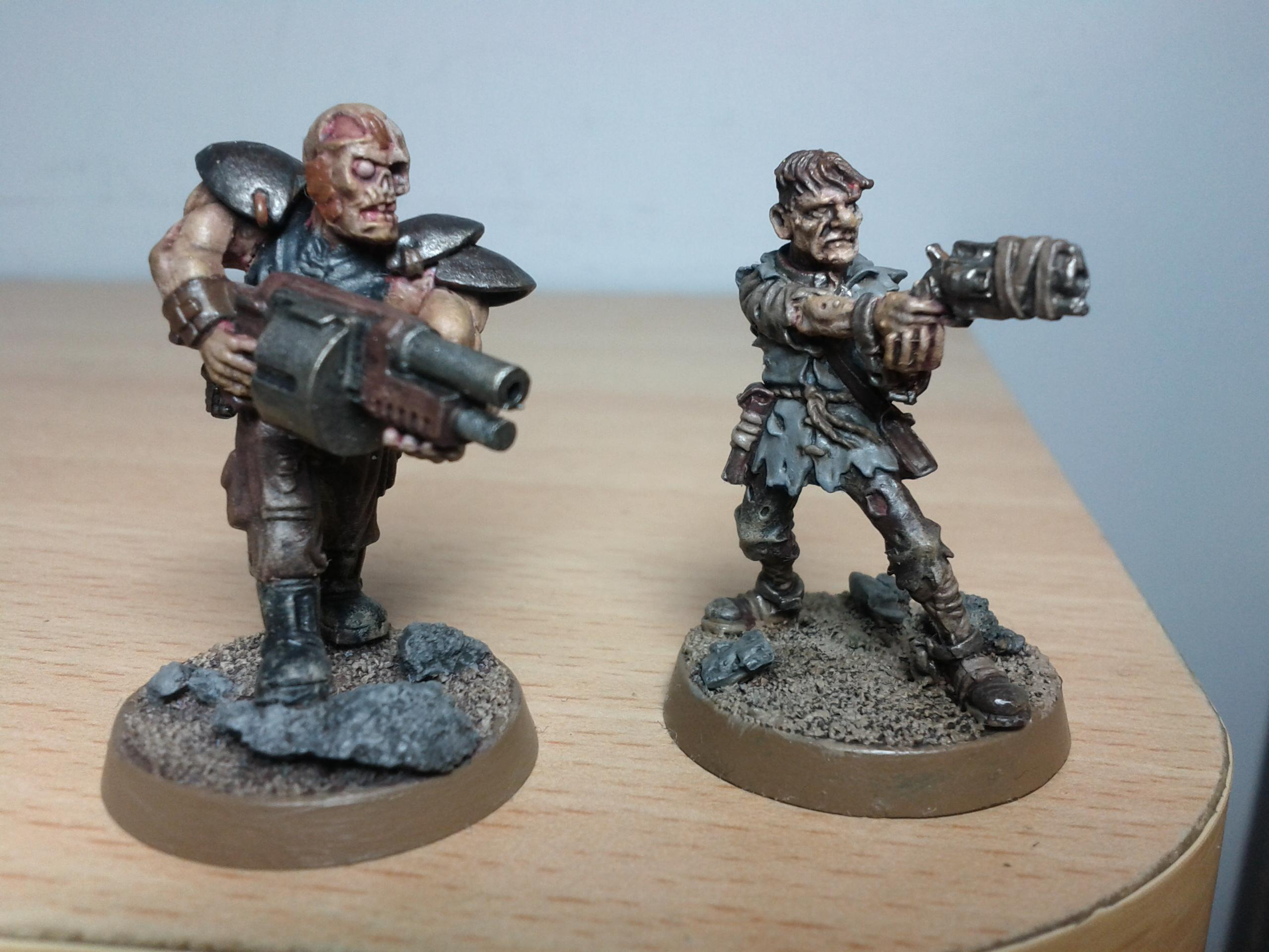 Charon, Fallout, Ghoul, Kit-bash, Scabbs