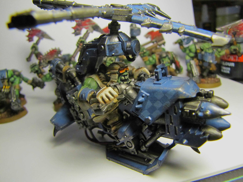 Blue, Deathskulls, Deff Skullz, Deffkopta, Orks