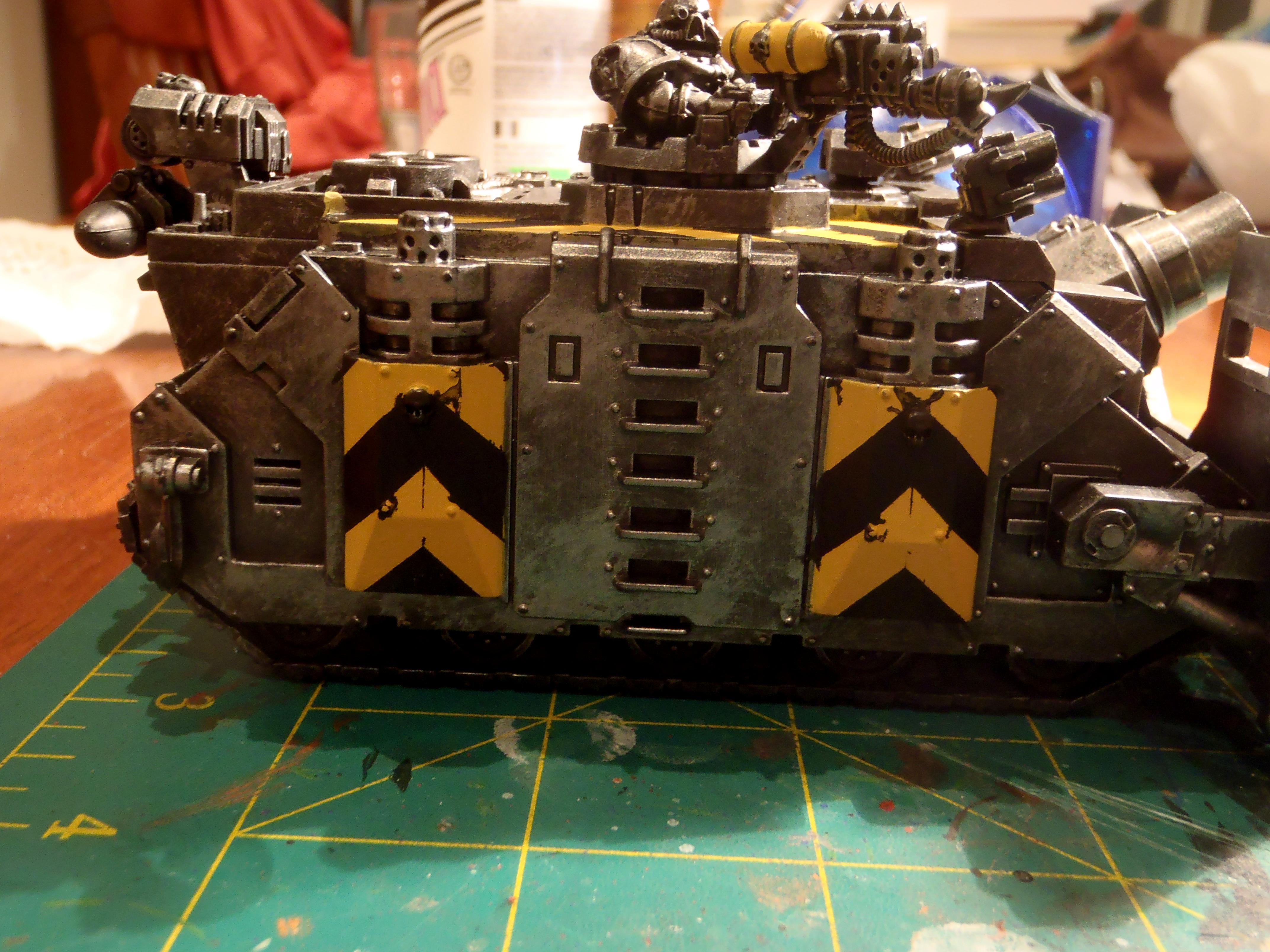First Try, Iron Warriors, Weathered, Work In Progress