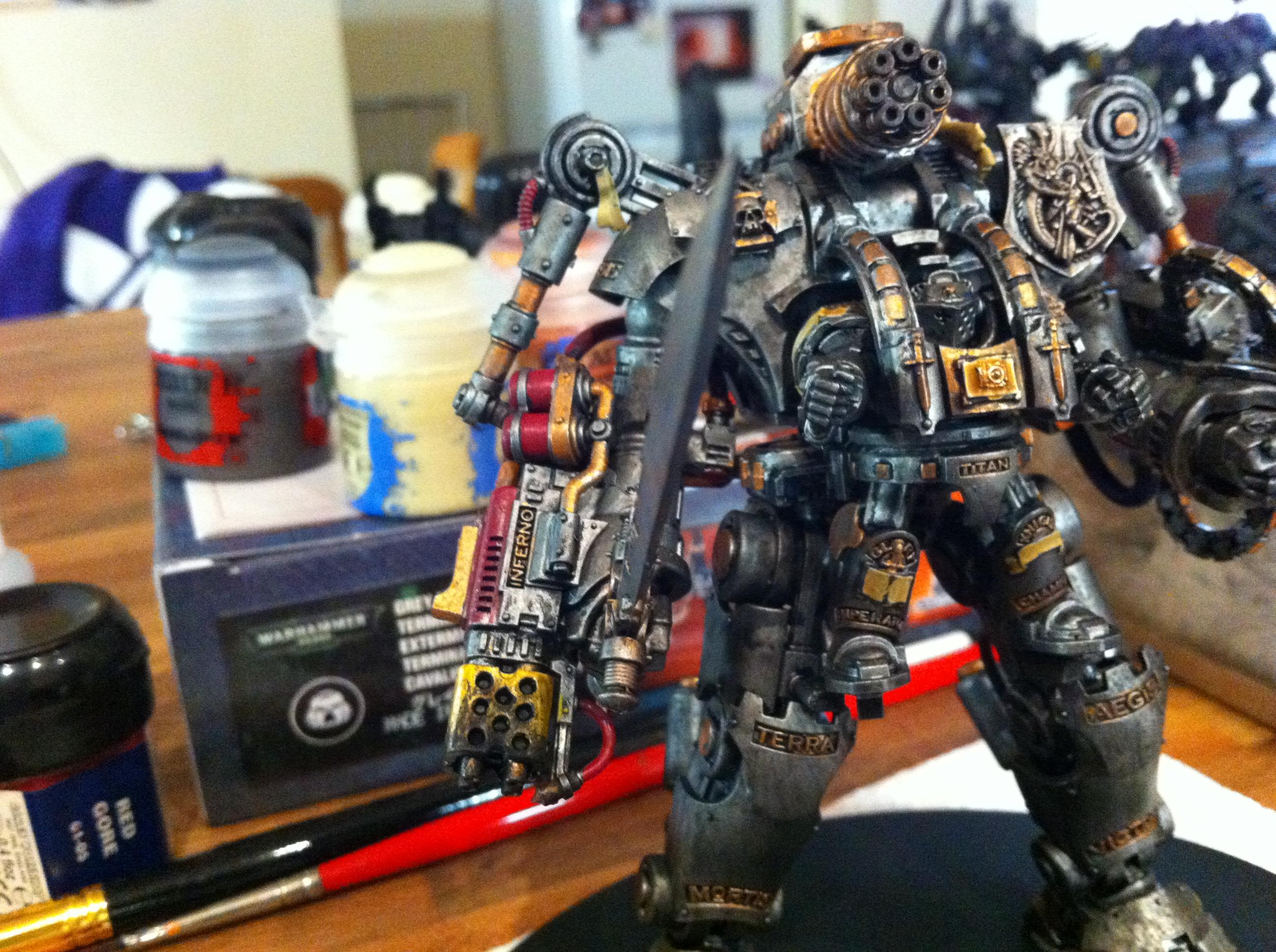 Chapter, Conversion, Custom, Grand, Grey, Knights, Master, Red, Terminator Armor, The, Tyberos, Wake