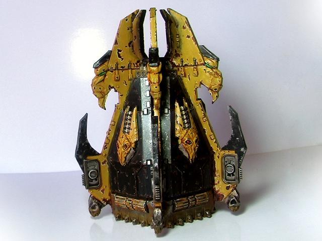 Beastmen, Drop, Herdstone, Pod, Space, Space Marines, Transport, Warhammer 40,000