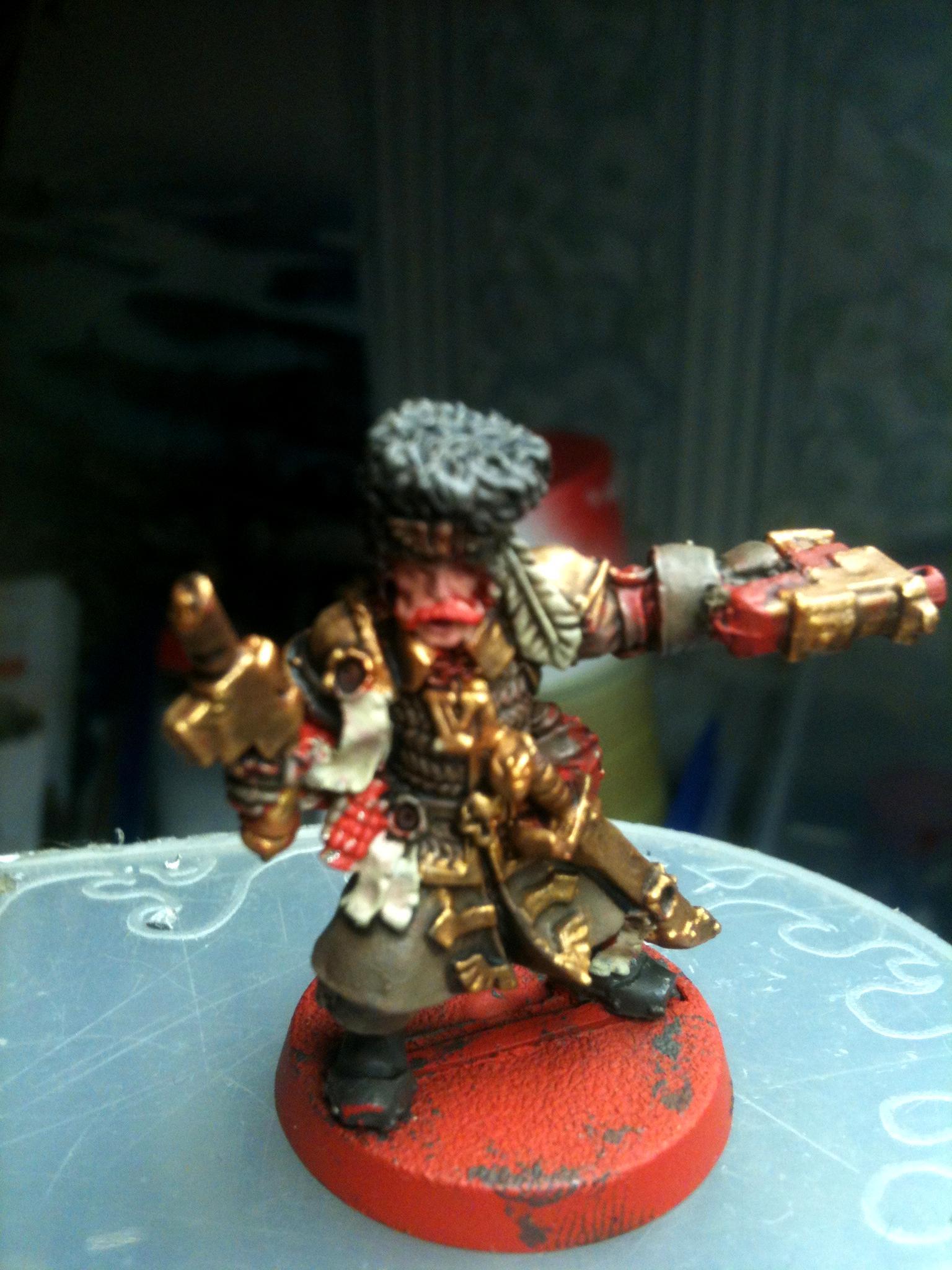 Heavy Bolter, Vostroyans, Weapons Team, Work In Progress