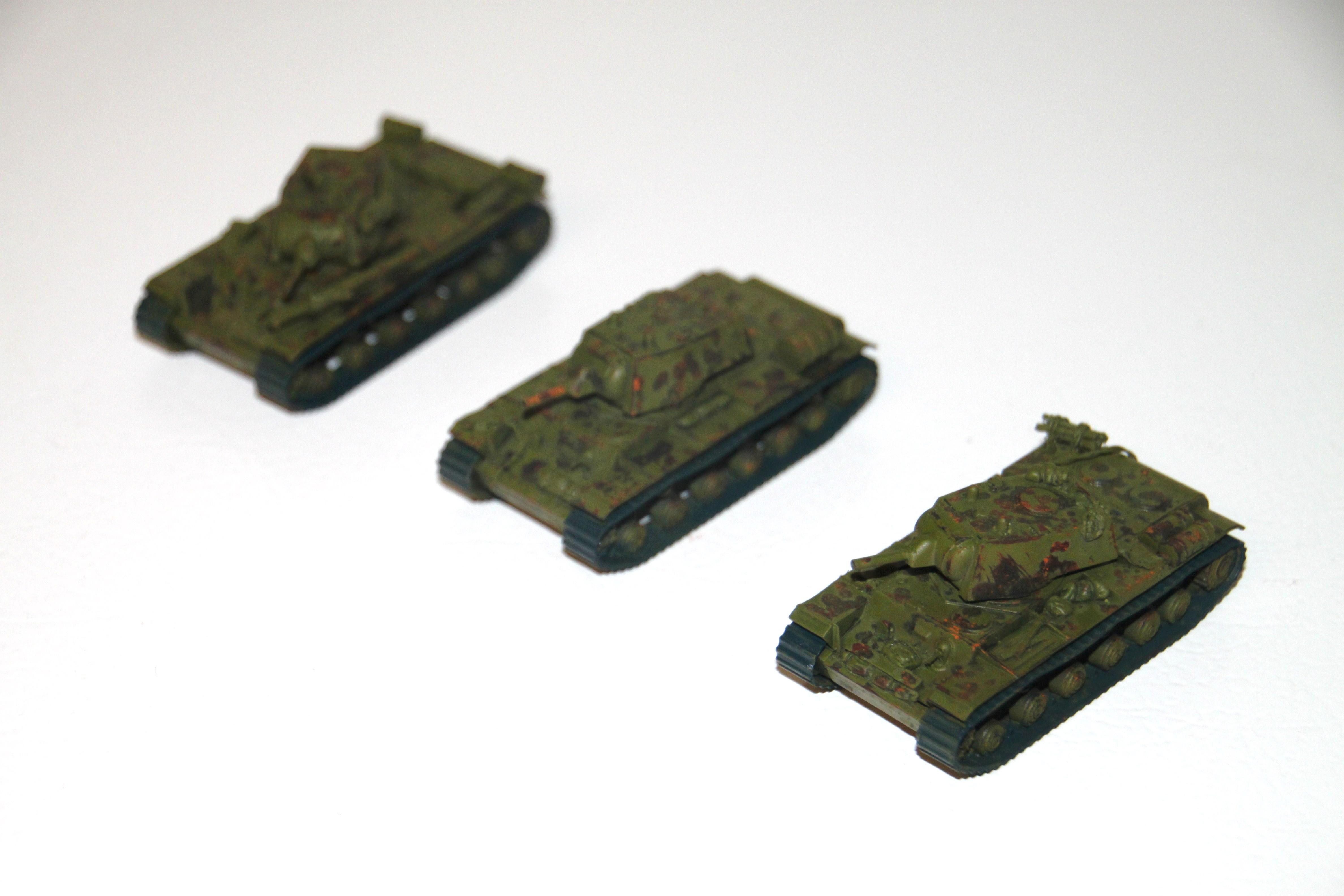 Flames Of War, kv-1 wip2
