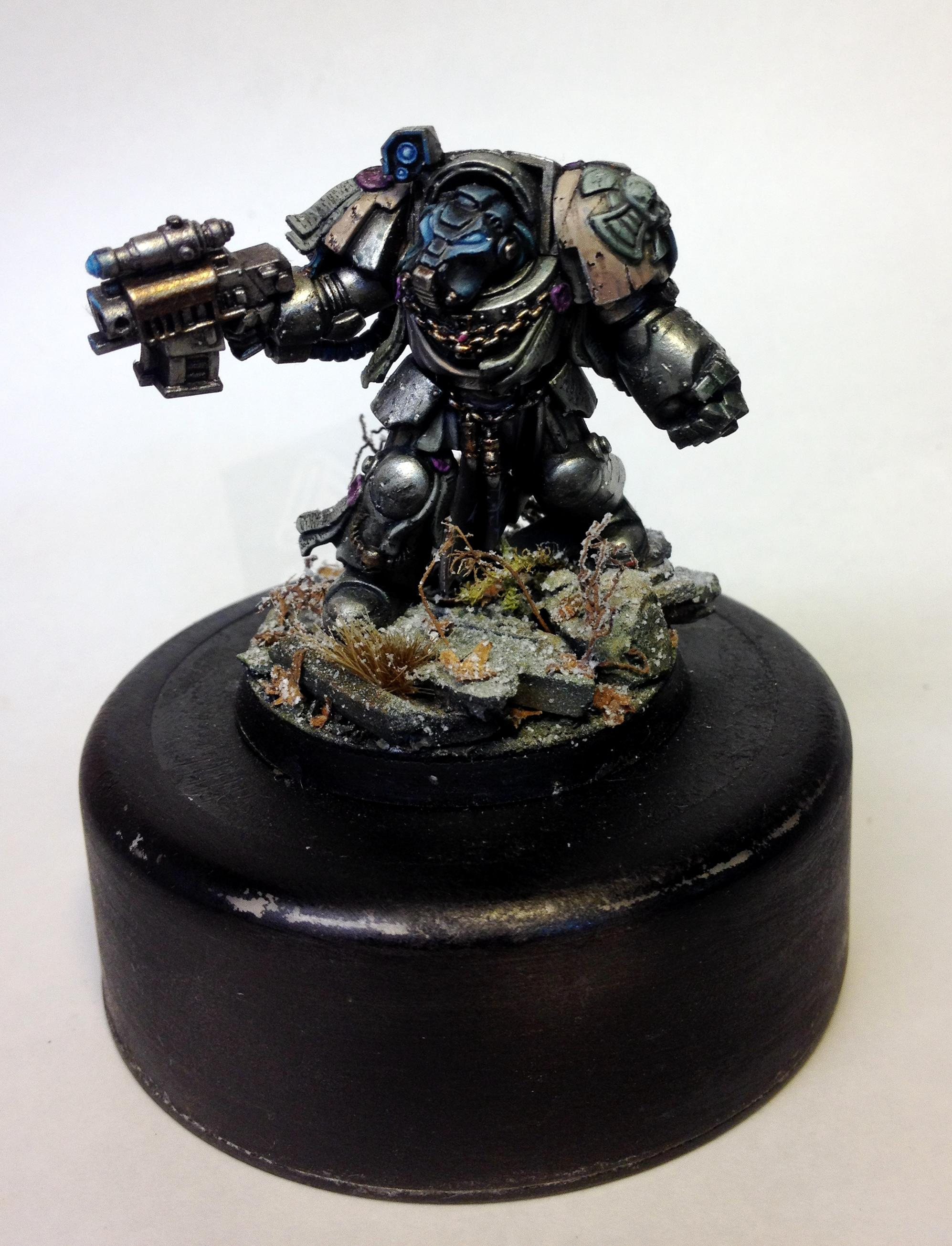 Power Fist, Purity Seal, Space Marines, Storm Bolter, Terminator Armor, Warhammer 40,000