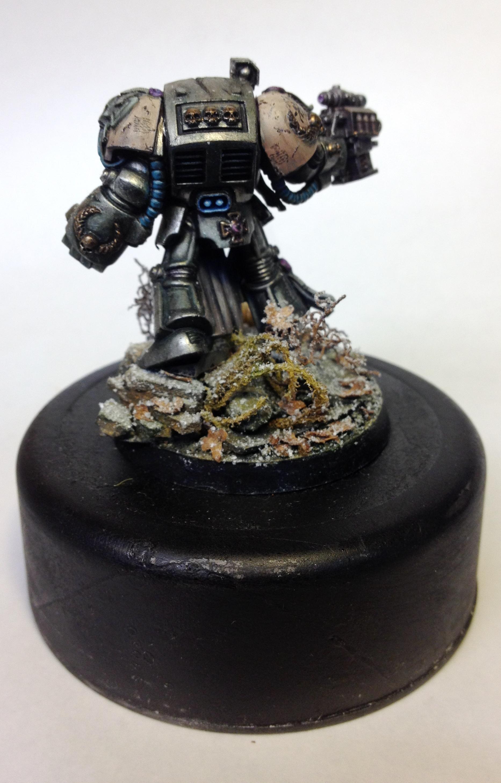 Diorama, Space Marines, Terminator Armor