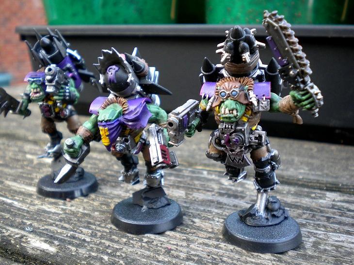 Orks, Stormboyz, Work In Progress