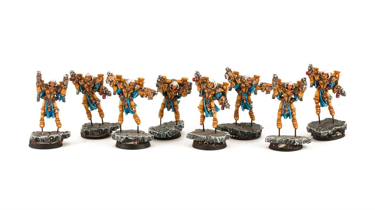 Seraphim, Sisters Of Battle, Warhammer 40,000