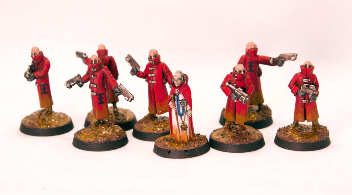 Alternate, Imperium, Inquisition, Psykers