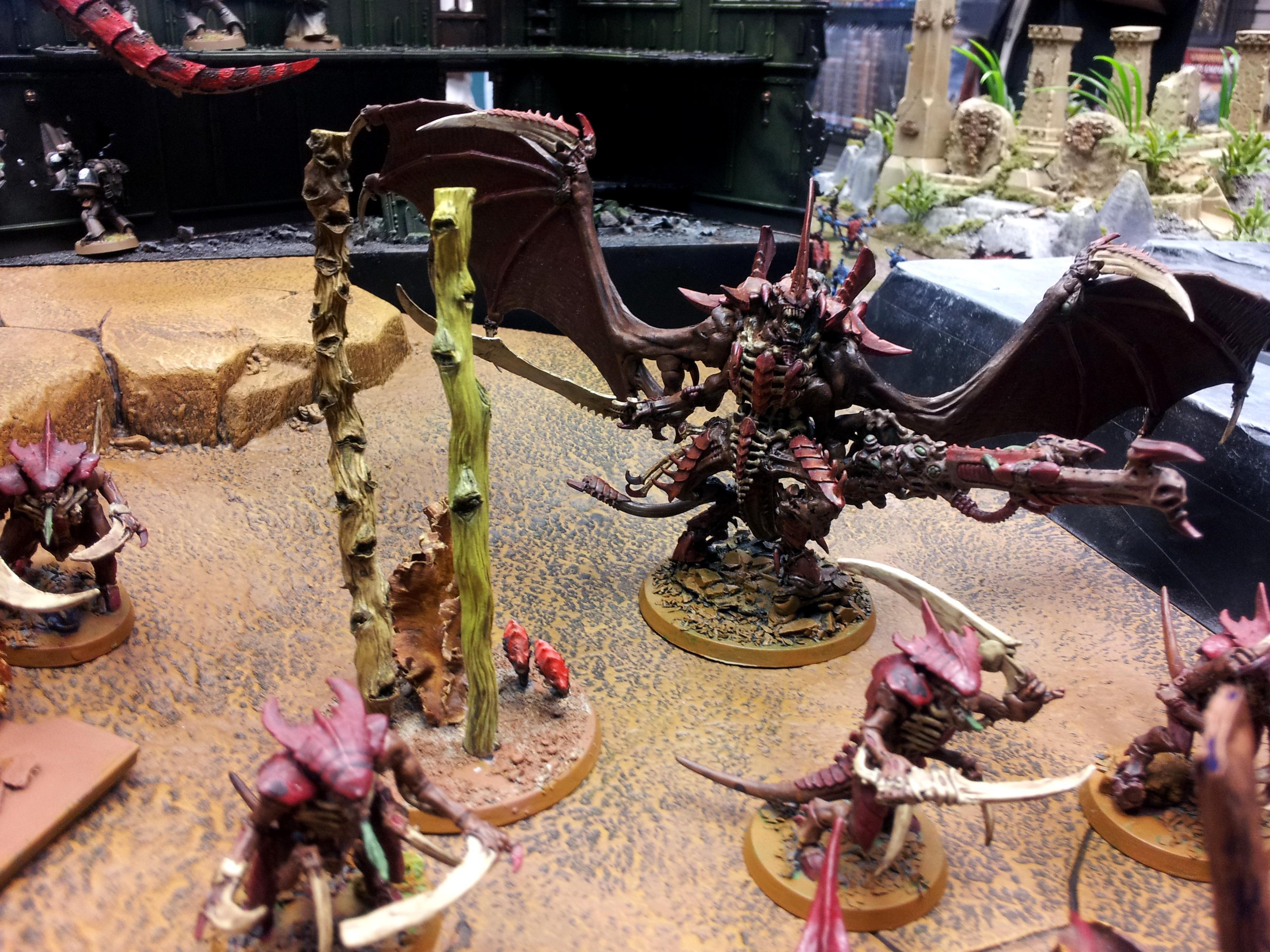 Army, Carnifex, Hive Tyrant, Tyranids, Winged Harridan