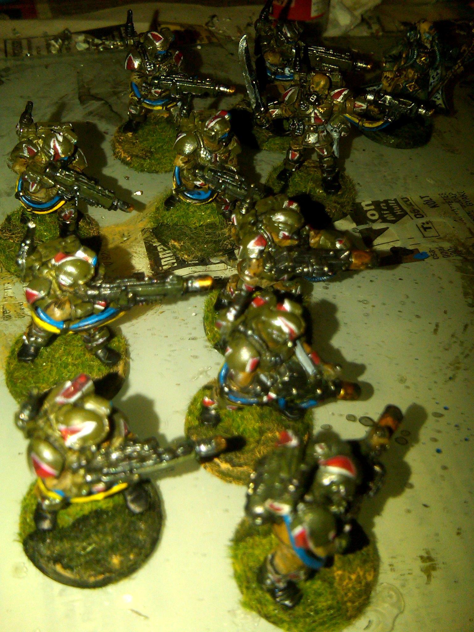 8th, Cadians, Carapace, Cut, Imperial Guard, Kasrkin, Meltagun, Metal, Primaris, Primaris Psyker, Psyker, Sergeant, Squad, Storm Troopers, Veteran